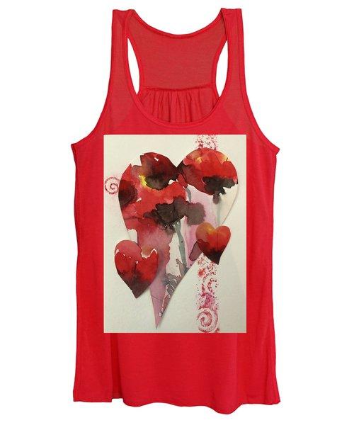 My Valentine Four Women's Tank Top