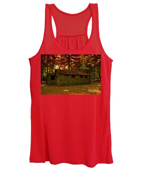 Old Stone Structure Women's Tank Top
