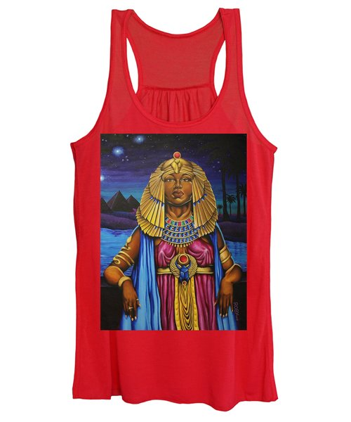 One Night Over Egypt Women's Tank Top