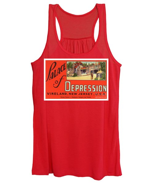 Palace Of Depression Women's Tank Top
