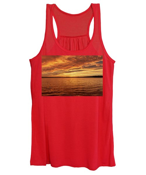 Percy Priest Lake Sunset Women's Tank Top