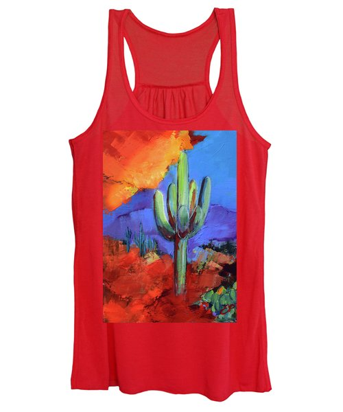 Under The Sonoran Sky By Elise Palmigiani Women's Tank Top