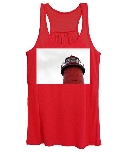 Red Women's Tank Top