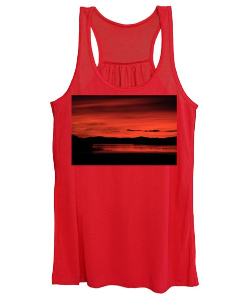Red Sunset Women's Tank Top