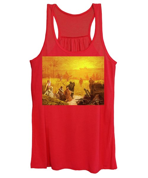 Return Of The Ark To Beth Shemesh Women's Tank Top