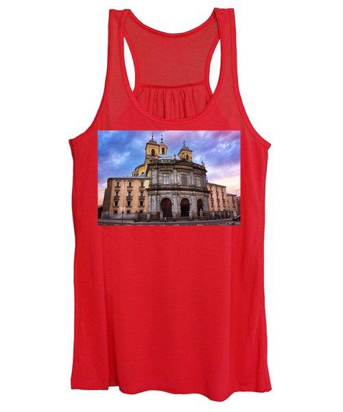 Royal Basilica Of San Francisco El Grande Women's Tank Top