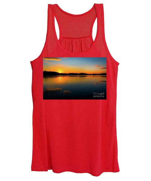 Savannah River Sunrise - Augusta Ga Women's Tank Top