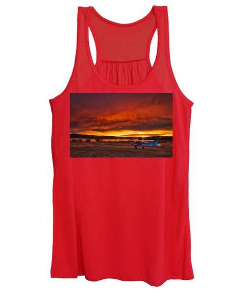Skylane Sunrise Women's Tank Top