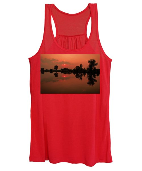 St. Vrain Sunset Women's Tank Top