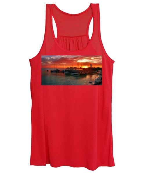Sunrise In Cancun Women's Tank Top