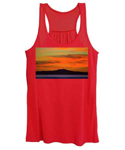 Sunrise Over Santa Monica Bay Women's Tank Top