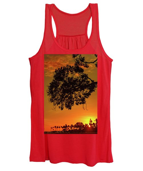 Sunset By The Pier Women's Tank Top