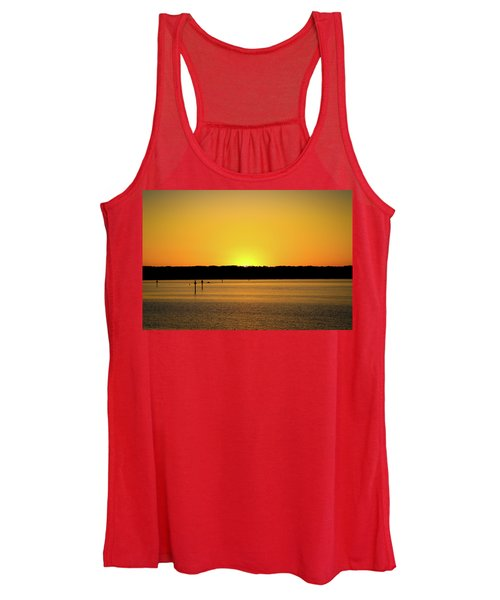 Sunset From National Harbor Women's Tank Top