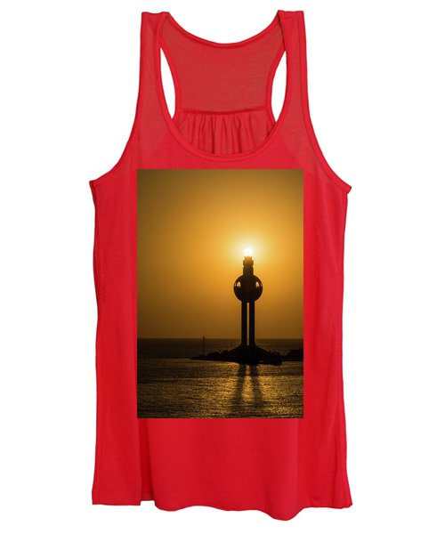 Sunset In Port Jeddah, Saudi Arabia Women's Tank Top