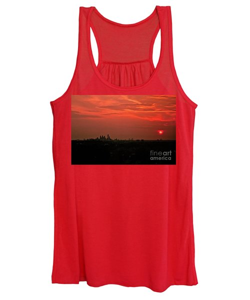 Sunset Over Philly Women's Tank Top
