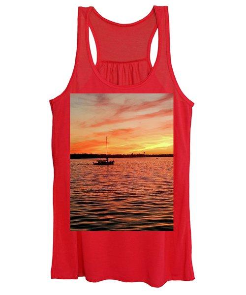Sunset Sail Women's Tank Top