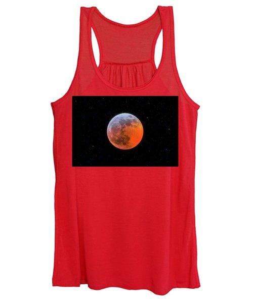 Super Blood Moon Eclipse 2019 Women's Tank Top