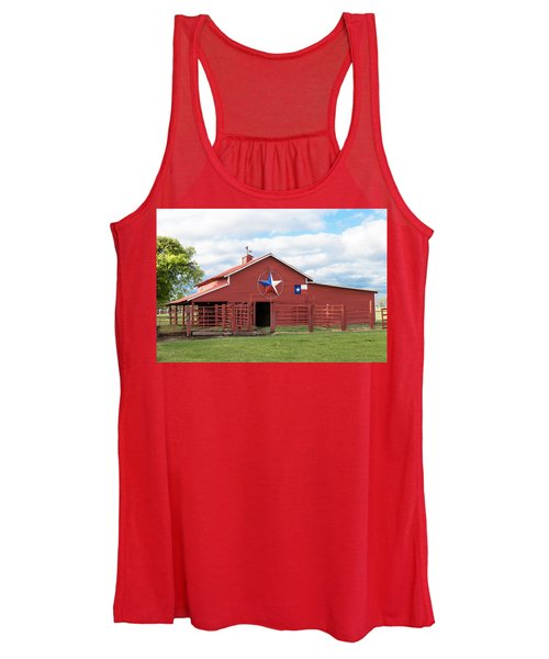 Texas Red Barn Women's Tank Top