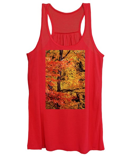 The Colors Of Fall Women's Tank Top