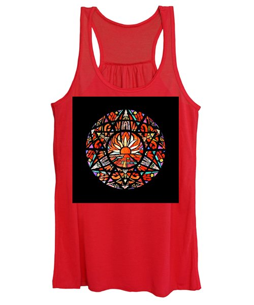 the Sun is Aflame Women's Tank Top