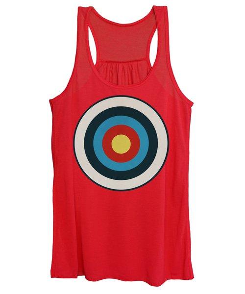 Vintage Target - Orange Women's Tank Top