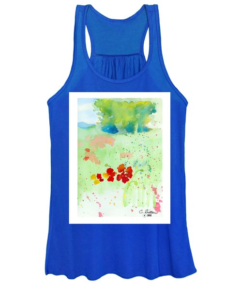 Field Of Flowers Women's Tank Top