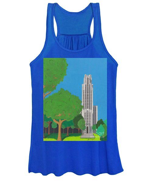 The Cathedral Of Learning Women's Tank Top