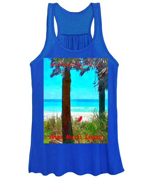We Saved A Place For You Women's Tank Top
