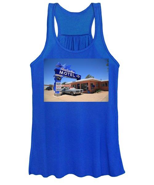 Route 66 - Blue Swallow Motel Women's Tank Top