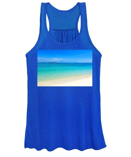 Tropical Beach Malcapuya Women's Tank Top