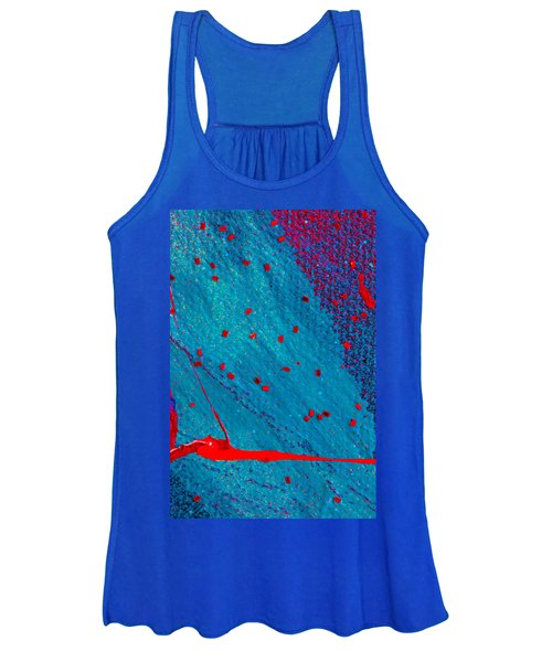 Abstract Original Artwork One Hundred Phoenixes Untitled Number Eleven Women's Tank Top