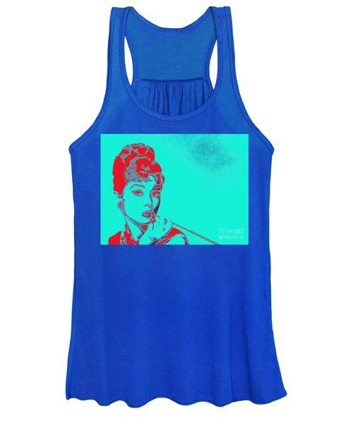 Audrey Hepburn 20130330v2p128 Women's Tank Top