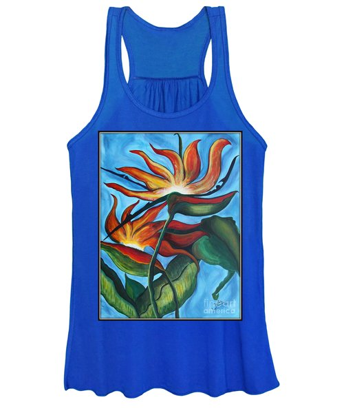 Bird Of Paradise Women's Tank Top