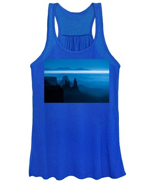 Blue Moon Mesa Women's Tank Top