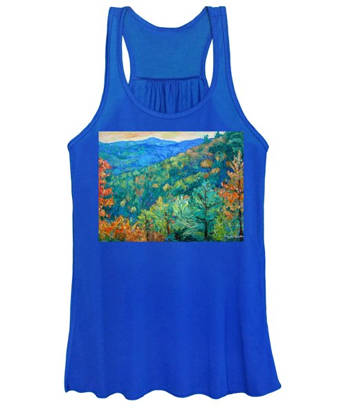 Blue Ridge Autumn Women's Tank Top