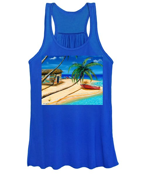 Boat Rent Women's Tank Top