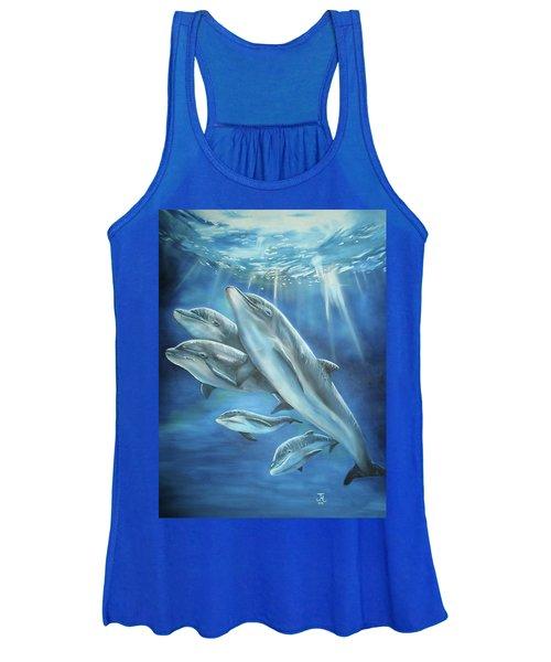Bottlenose Dolphins Women's Tank Top