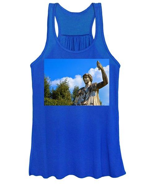 Caesar On Blue Sky Women's Tank Top