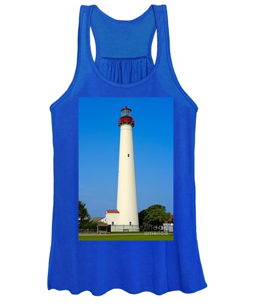 Cape May Lighthouse Women's Tank Top