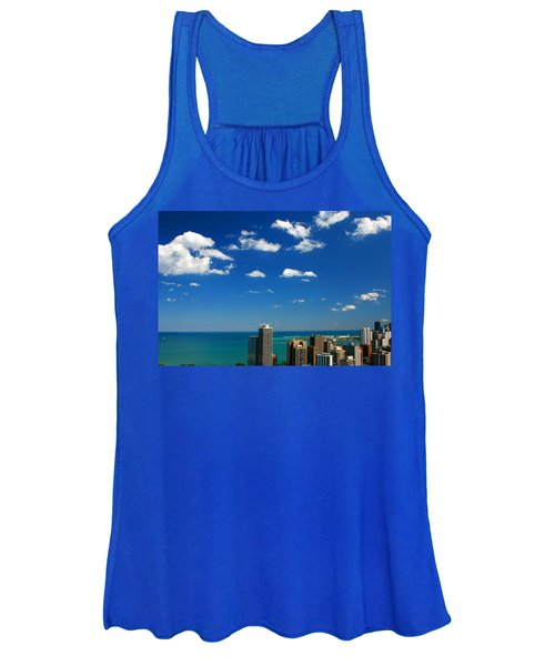 Chicago Skyline Big Sky Lake Women's Tank Top