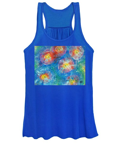 Circle Burst Women's Tank Top