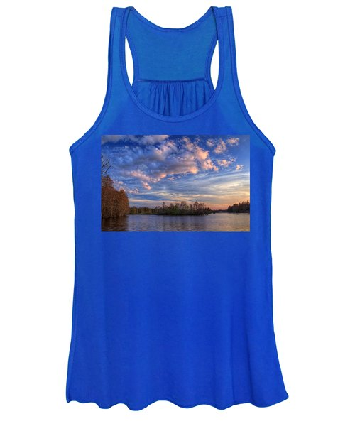 Clouds Over The River Women's Tank Top