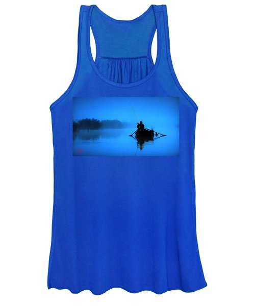 Early Morning Fishing  Women's Tank Top