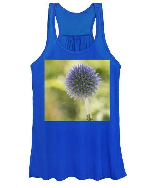 Echinops Blue Women's Tank Top