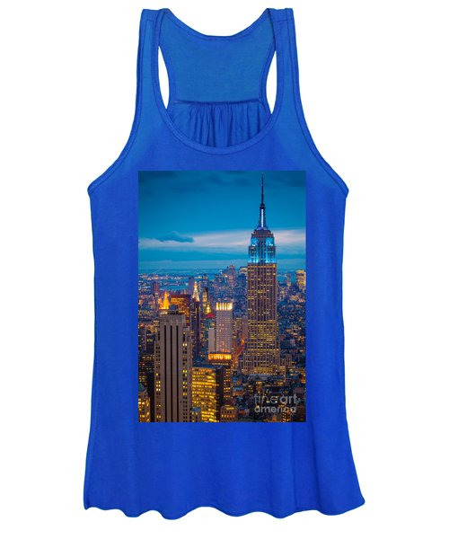 Empire State Blue Night Women's Tank Top