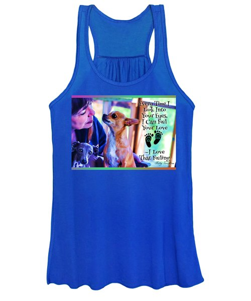 Every Time I Look Into Your Eyes Women's Tank Top