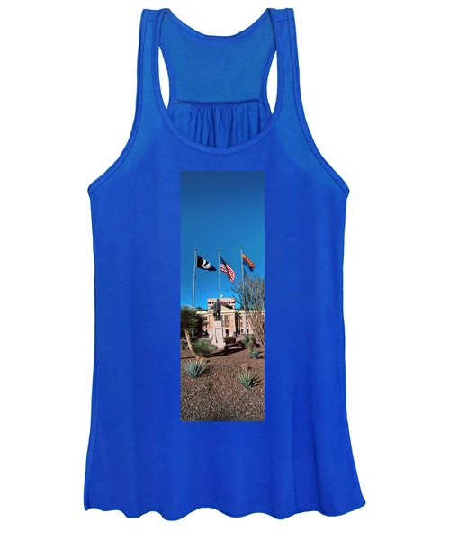 Facade Of The Arizona State Capitol Women's Tank Top