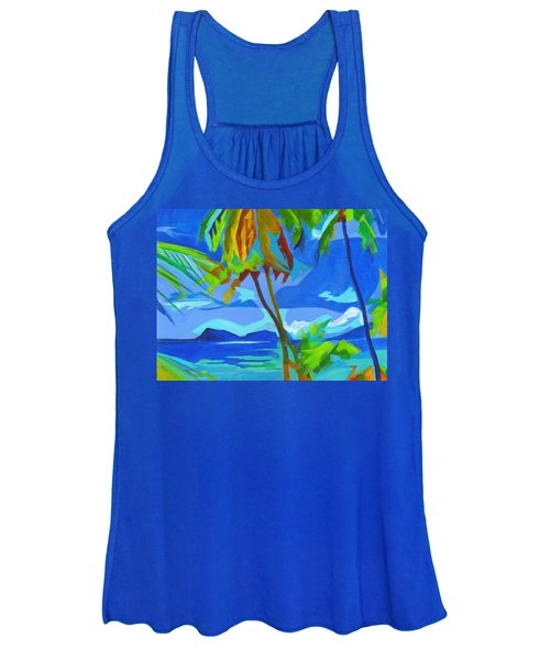 Dream Islands. Maui Women's Tank Top