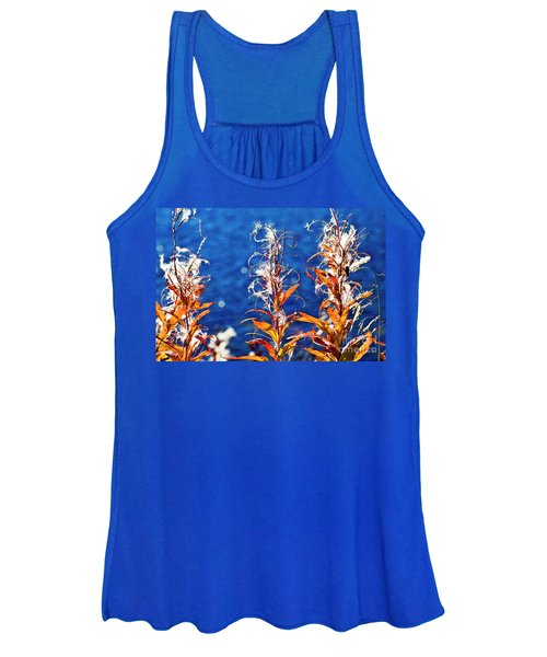 Fireweed Flower Women's Tank Top