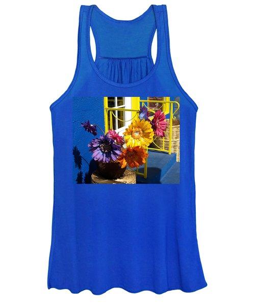 Flores Colores Women's Tank Top